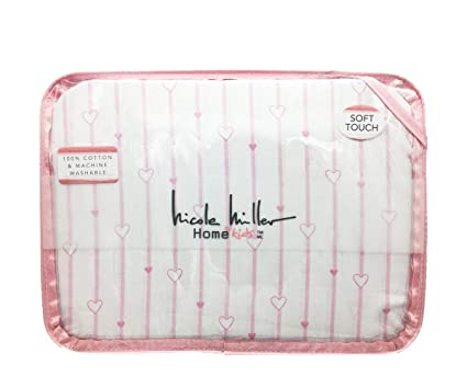 4a4ca1e9d65a7 Amazon.com: Nicole Miller Kids GIRLS 3-Pc Twin Sheet Set | Pink ...