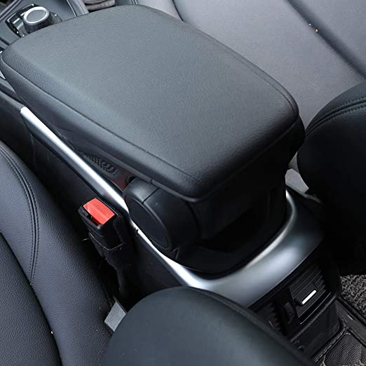 TOOGOO Cubierta de Manejar de La Puerta Interior Derecha del Coche para BMW X1 E84 2010-2016 Negro