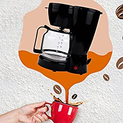 10 Cup Thermal Coffee Maker,Automatic Coffee Machine with Glass Carafe, Silent Operation Drip Coffeemaker with Coffee Pot and Filter for Home and Office [Ship from US] Christmas Gift