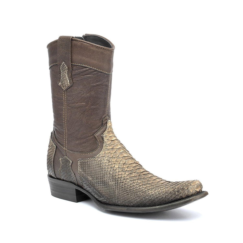 1J06PH Cuadra Python Urban ankle Boots