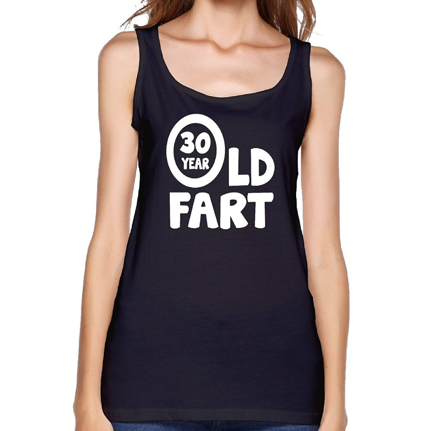 Birthday 30 Dirty Thirty With A Party Girlfriend Jersey Tank Black