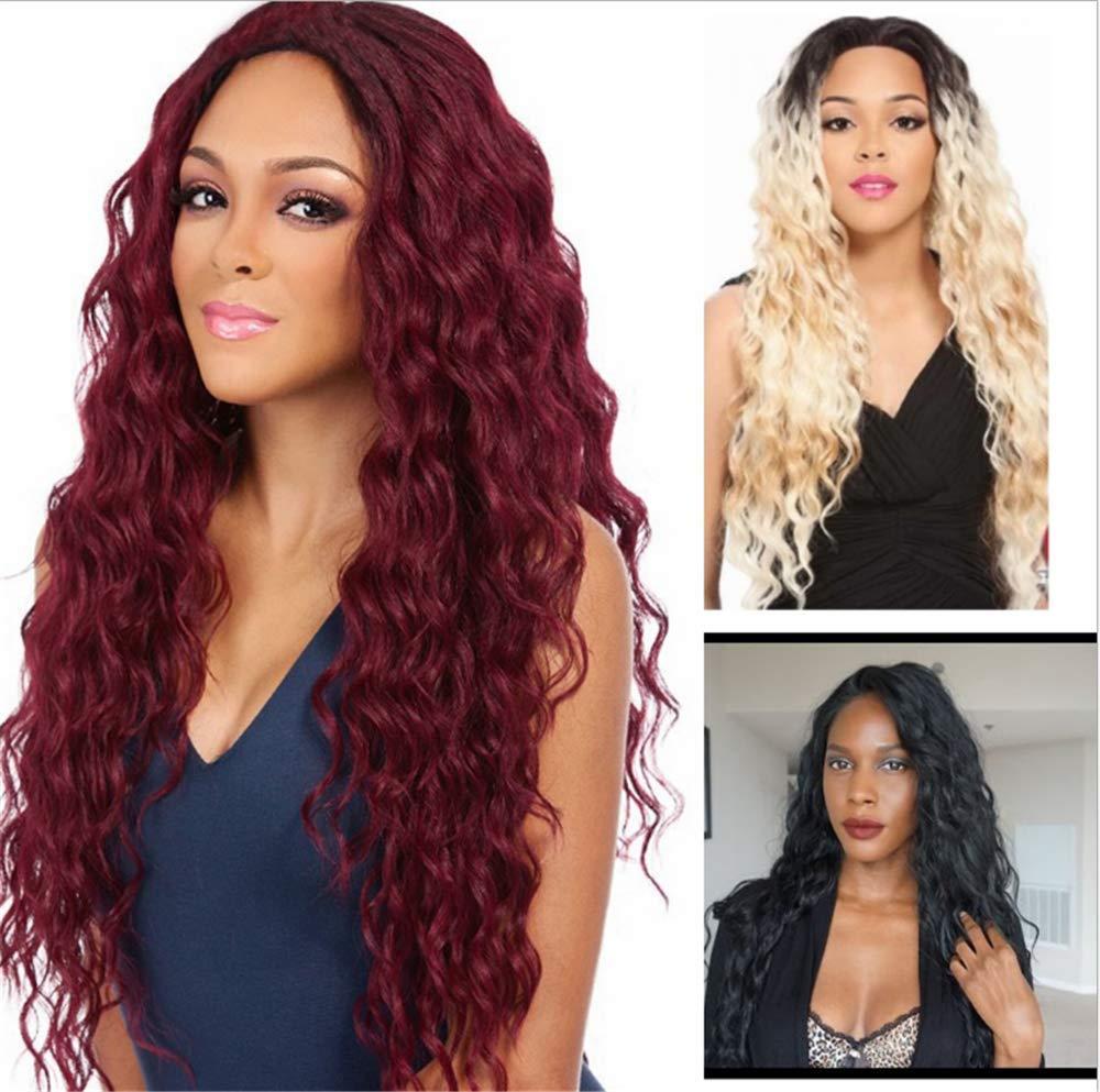 LONG LOVE Wig Hair Straight Hair Pink Wig Headgear Chemical Fiber High Temperature Wire