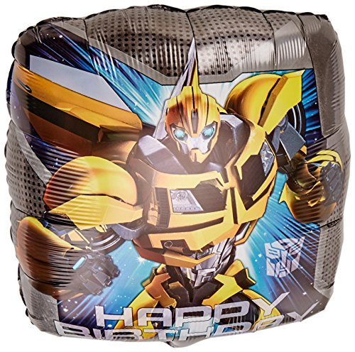Anagram International HX Transformers Animated Happy Birthday Packaged Party Balloons, Multicolor]()