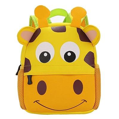 ❤️XINANTIME - Bolsa Escuela Bolso Escolar Dibujos Animados Infantil Viaje Mochila para Guardería Primaria Niño Niña (21cm (L) * 26 (H) * 8cm (W), ❤️Jirafa): Hogar