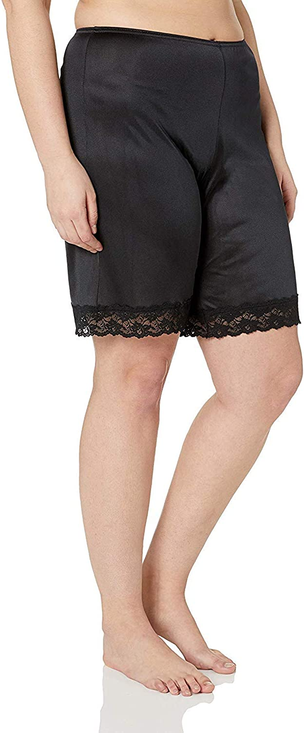 Under Moments Womens Classic Pettipants Bloomers w//Lace 15,22 Inch 52021 2PK