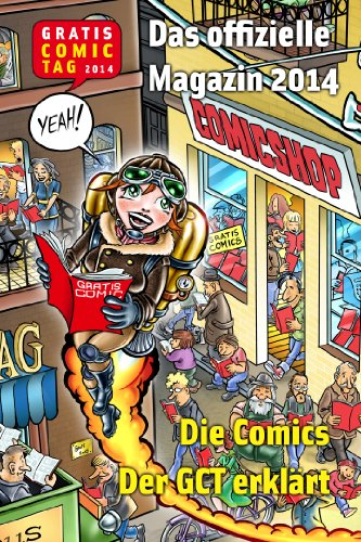 Gratis Comic Tag Magazin 2014 (German Edition)