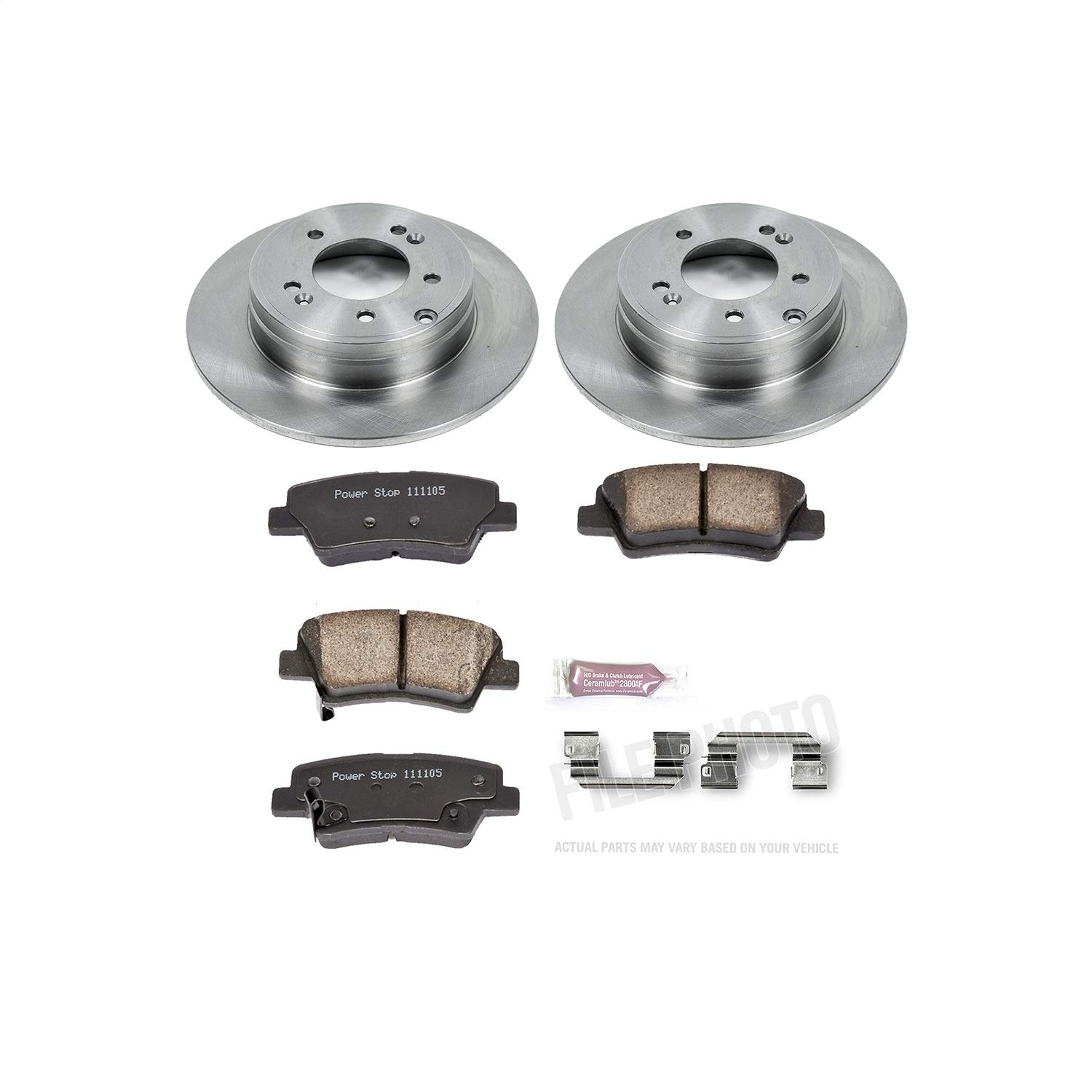 Autospecialty (KOE5381) 1-Click OE Replacement Brake Kit