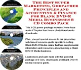 img - for The Best Super Marketing, Godfather Principles and Accounting & Finance for Blank DVD+R Media Businesses 3 CD Combo Pack book / textbook / text book