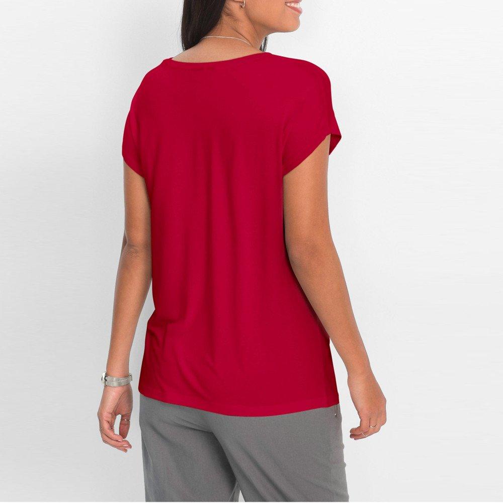 AOJIAN T Shirt Women Short Sleeve Shirts Feather Graphic Tunic Blouse Tanks Vest Tops