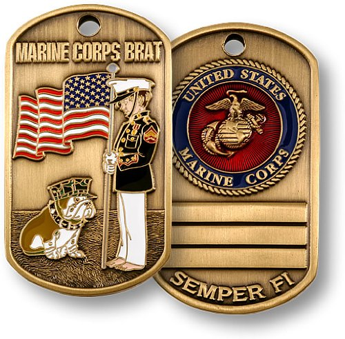 Marine Brat Dog Tag