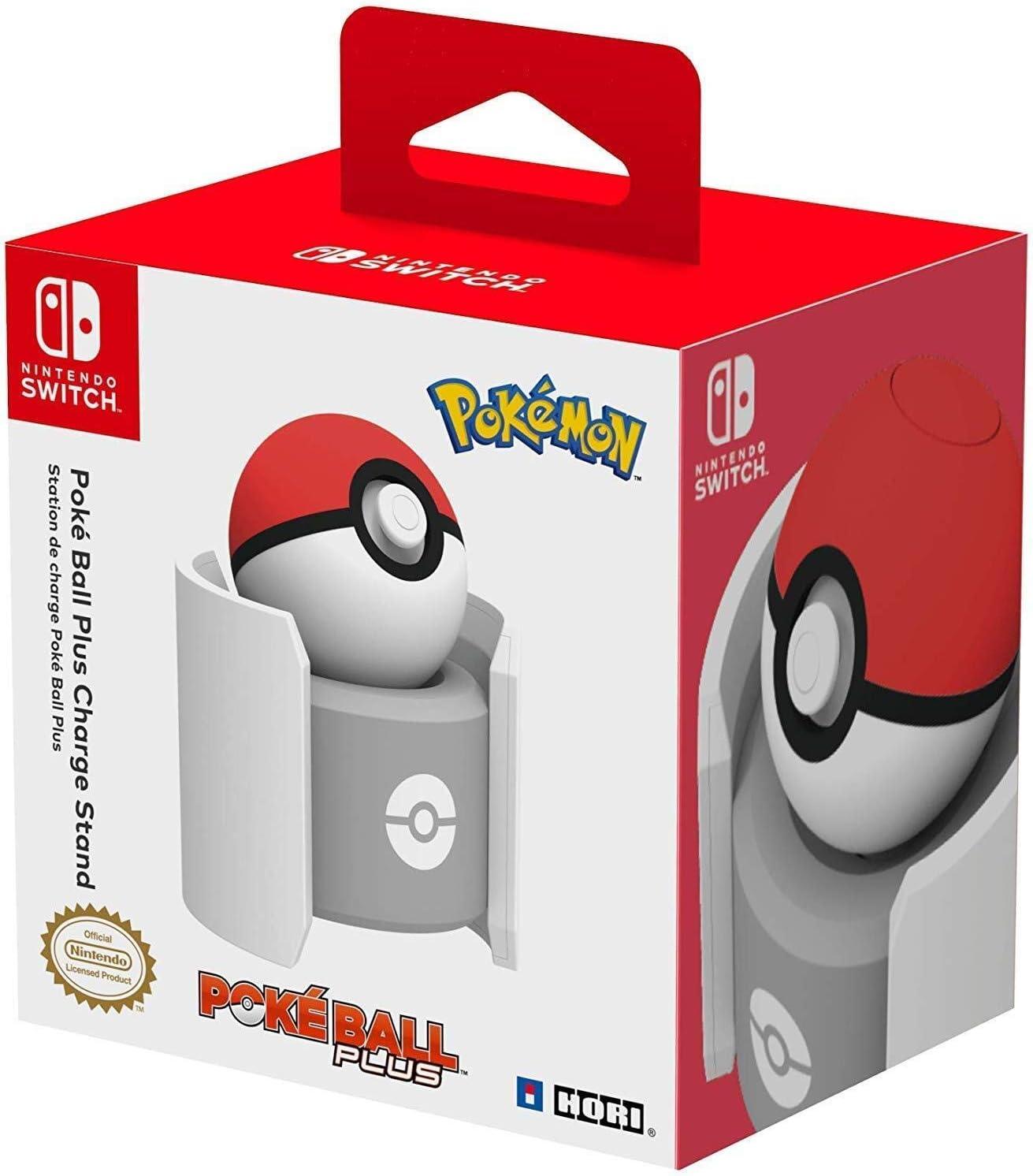 Hori - Base de Carga Poké Ball Plus (Nintendo Switch): Amazon.es ...