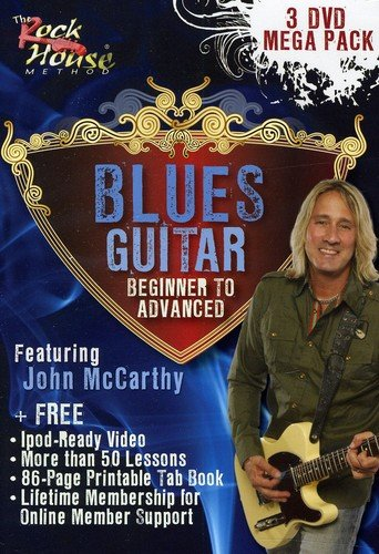 John McCarthy, Blues Guitar Mega Pack (Performance Rock Pack)
