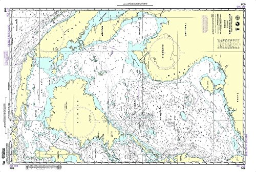 NGA Chart 508: South China Sea (WATERPROOF) 29 x 43 by Paradise Cay Publications