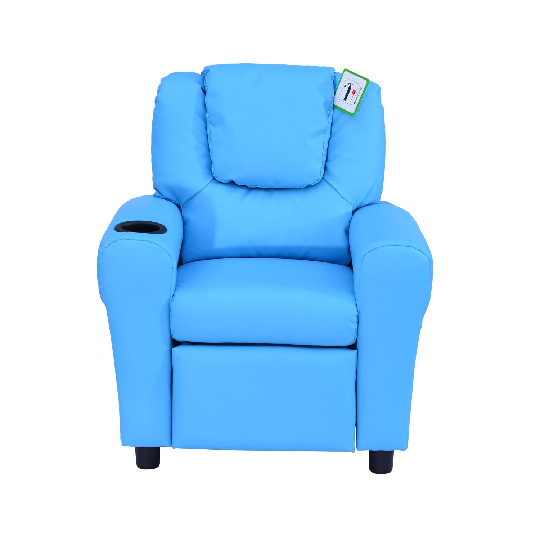 Hom Kids Children Recliner Lounger Armchair Games Chair Sofa