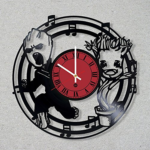 [Contemporary Vinyl Record Wall Clock I Am Groot Baby Comics Guardians of the Galaxy decor unique gift ideas for friends him her boys girls World Art Design] (Thanos Movie Costume)