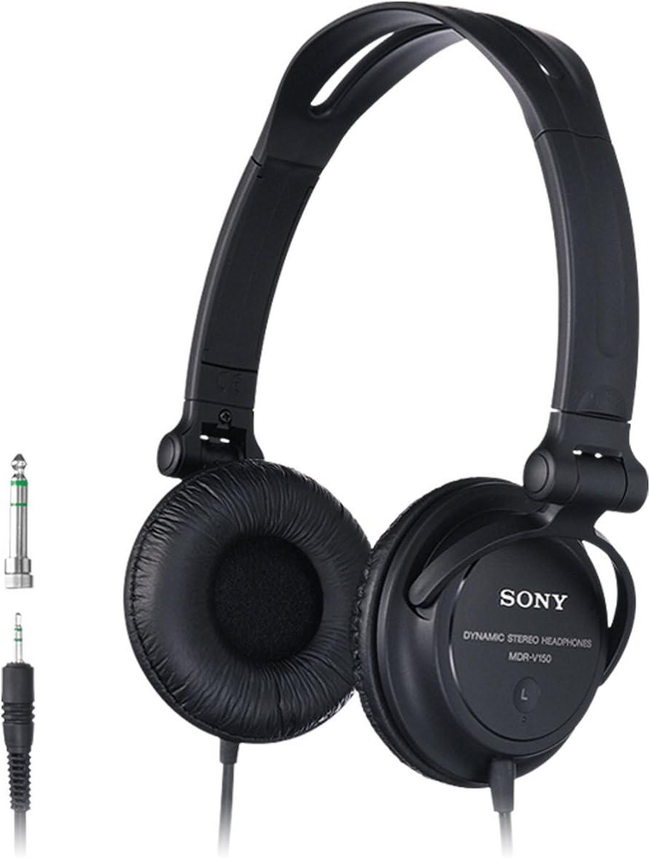 Sony MDRV150 - Auriculares de Diadema Cerrados, Negro