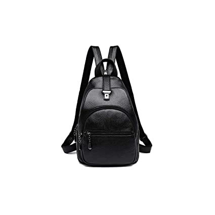 Latest Models Guyuexuan Girls Multi-Purpose Backpack for Daily Travel//Outdoor//Travel//School//Work//Fashion//Leisure PU Leather Stylish and Generous Five Colors