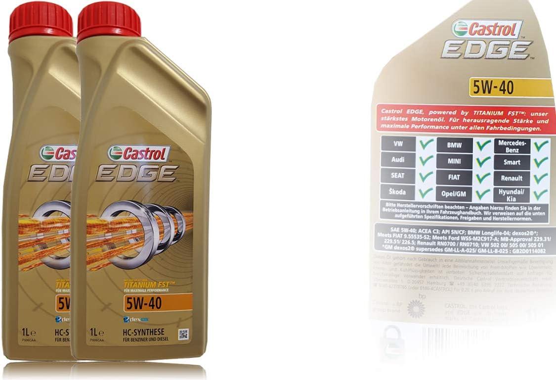 Castrol Edge Fst 5w 40 Motor Öl Motoren Öl 2l Auto