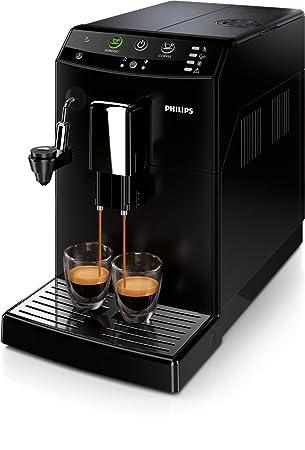 Philips 3000 series HD8824/09 - Cafetera (Independiente, Máquina espresso, 1,8 L, Molinillo integrado, 1850 W, Negro): Amazon.es: Hogar