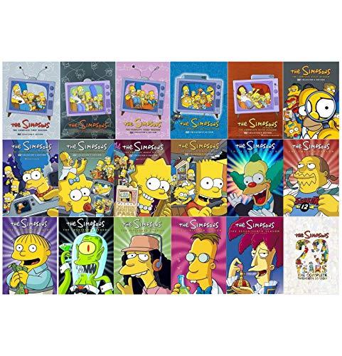 The Simpsons: Complete Series Seasons 1-18 and Season 20 - Simpsons 20 Seasons
