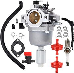 Hipa 594593 Carburetor fits for John Deere L107 L108 115 LA115 LA105 D110 LA125 Lawn Mower Intek 14HP 18HP Engine 591731 593514 697141 697190 698445 699109 699937 791858 791888 792171