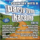 Party Tyme Karaoke - Country Hits 8 (16-Song CD+G)