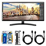 LG 34UM68 21:9 FHD IPS 34-inch Monitor Bundle with