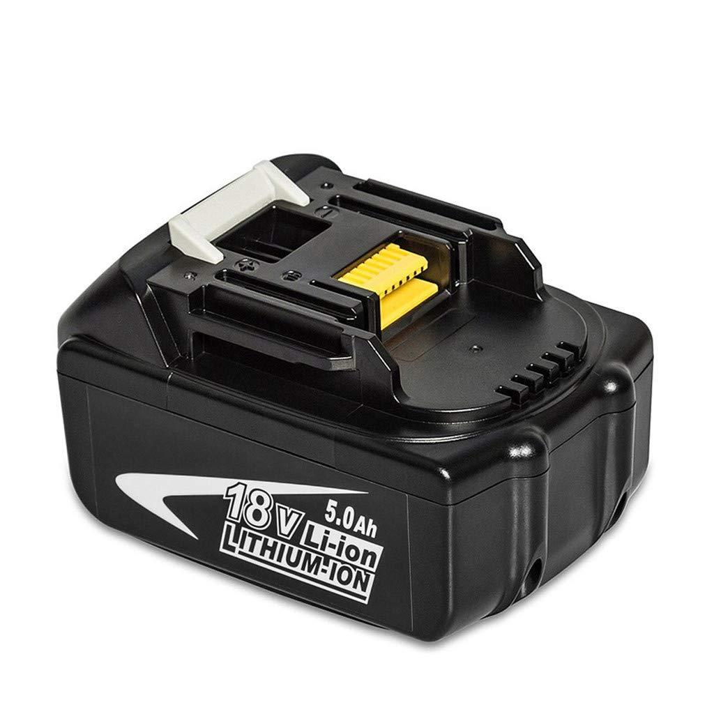 jinjijn NEW BL1830 18V Lithium-Ion LXT400 BL1815 BL1845 BL1840 3.0Ah 194230-4 Cordless Power Tools Batteries (5000 mah)