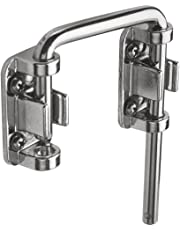 Prime-Line Products U 9847 Sliding Door Loop Lock, 2-1/8 in., Hardened Steel Bar w/Diecast Base, Chrome Plated