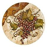Thirstystone Stoneware Coaster Set, Grapes