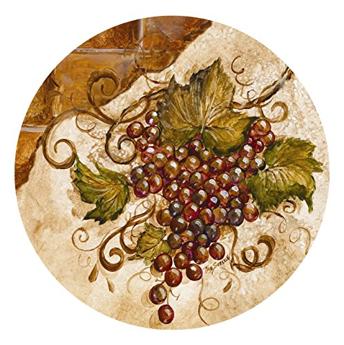 Thirstystone Stoneware Coaster Set, Grapes by Thirstystone