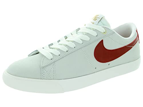timeless design 0effe 40099 Nike Mens Blazer Low GT IvoryCinnabarMetallic Gold Skate Shoe 11 Men US
