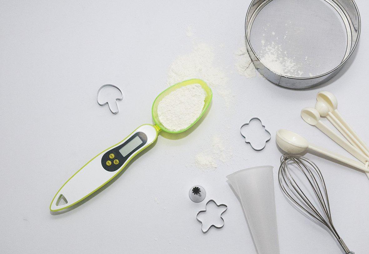 Digital Kitchen Measuring Spoon Scale