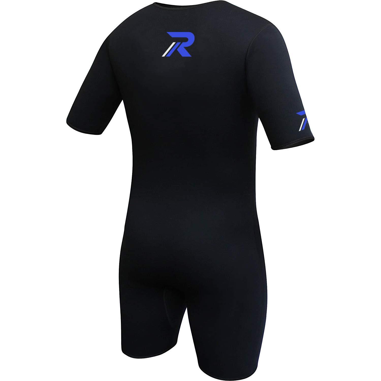 Roar Neoprene Suit Sweet Unisex (Black Blue, X-Large) by Roar (Image #4)