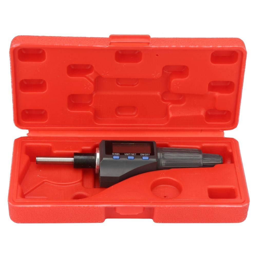 0.001mm Digital Micrometer Head,Micrometer Head Probe 0-25mm Electronic Micrometer Head Support Unit Convert