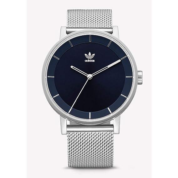 Adidas Reloj Analógico para Hombre de Cuarzo con Correa en Acero Inoxidable Z04-2928-