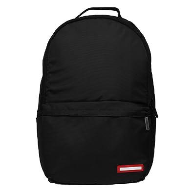 5dedad26256bde Sprayground Transporter 2.0 Backpack - Black  Amazon.co.uk  Shoes   Bags
