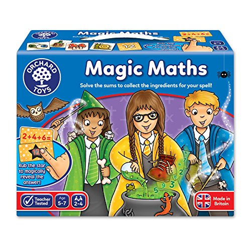 Orchard Toys Orchard Magic Math (103505) Fun Game