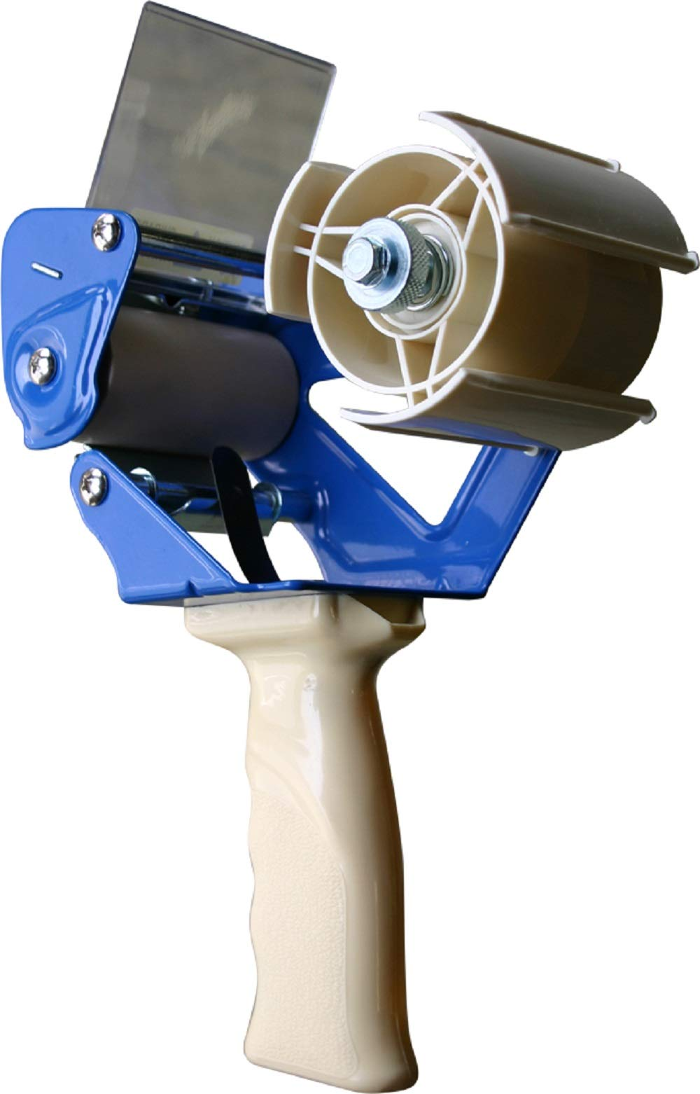 APQ Industrial Packing Tape Dispenser for 3'' Tape. Side Loading Tape Gun. Heavy Duty Hand Tape Gun. Lightweight and Portable for Commercial Packaging, Shipping, Moving, Carton and Box Sealing. by APQ Supply