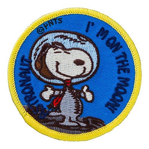 Minoda Snoopy vintage emblem Iron & seal dual Moon S02Y8885