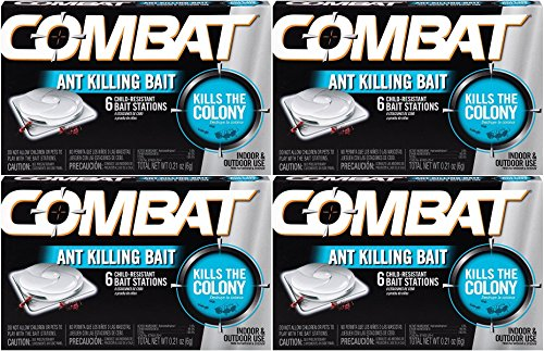 Combat Ant Killing Bait Stations, 6 Count (Pack of 4) by Combat