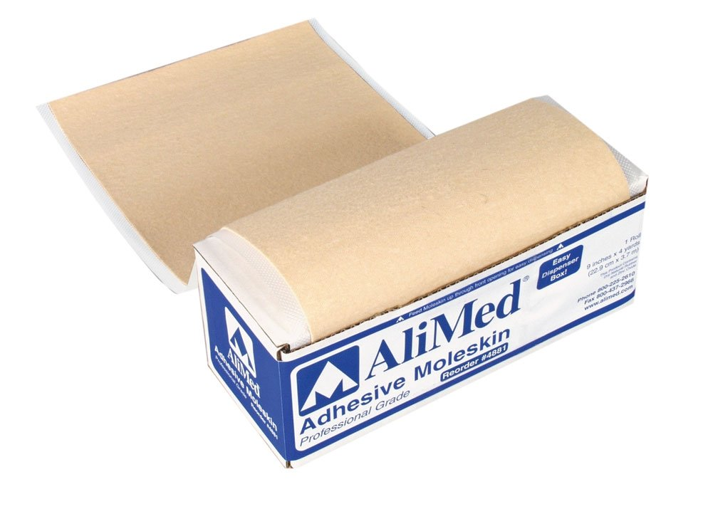 AliMed Moleskin, 9 inches x 4 yards