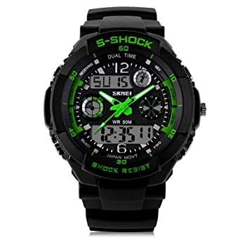 Relojes de Hombre 2018 Men Sports Watches Led Digital Quartz De Hombre Para Caballero RE0022