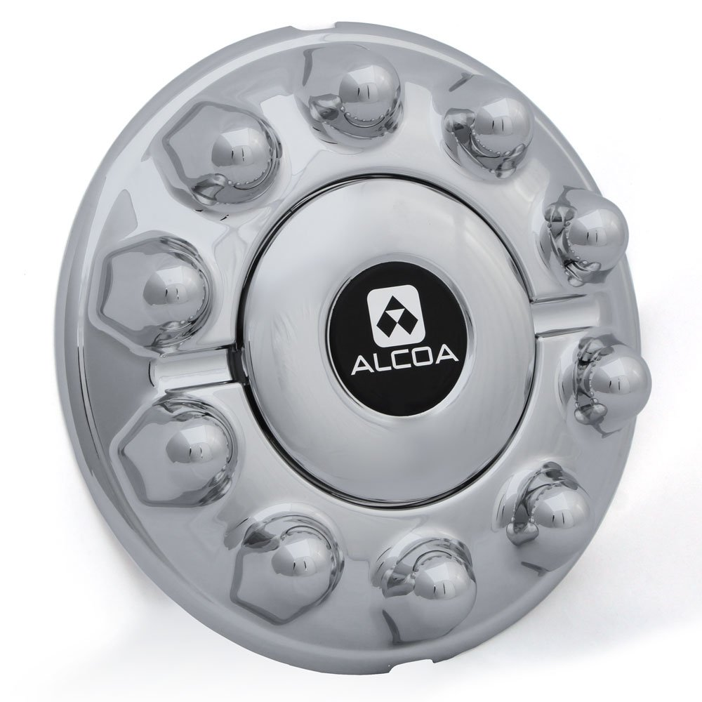 Alcoa One-Piece Front Hub Cover System for Ford & Dodge 10 Lug 19.5