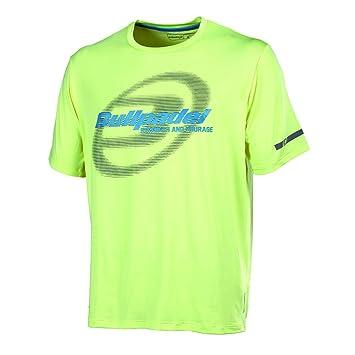 Bull padel Biferno - Camiseta para Hombre, Color Amarillo limón, Talla 2XL: Amazon.es: Zapatos y complementos