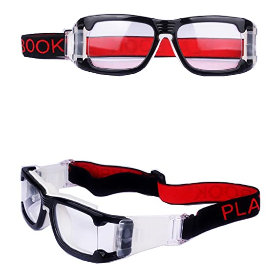 17fc6300a86e Image Unavailable. Image not available for. Color  De Ding Mens Sports  Basketball Football Goggles (black ...