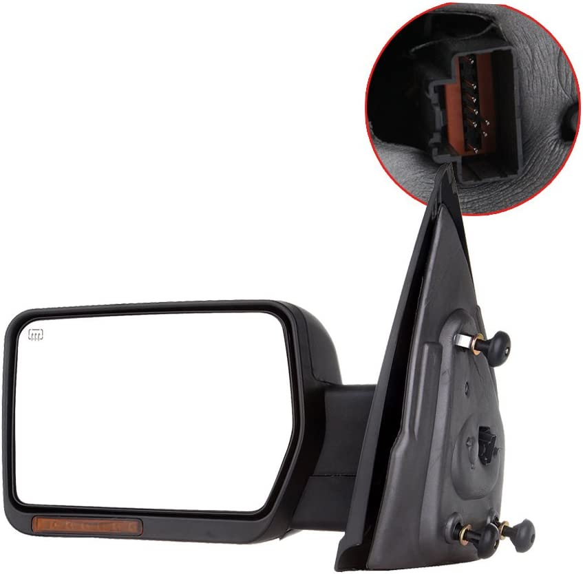 LH /& RH Side Set Of 2 Manual Folding Non Heated Mirror Fits F-150 F-150 Heritage