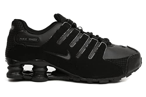 new arrival a69a2 ae854 Nike Shox NZ SI Plus (GS) Big Kids 317929-014 (7, Black Dark Grey - Black)   Amazon.ca  Shoes   Handbags