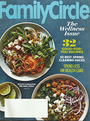 Family Cellars (Family Circle March 2016 (The Wellness Issue) 32 Good for You Recipes)