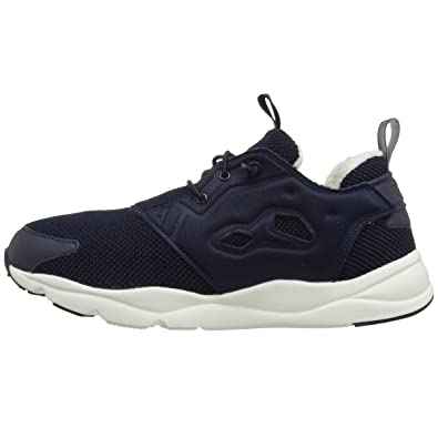 Factory Sale Womens Casual Shoes - Reebok Furylite Holiday Black/Chalk